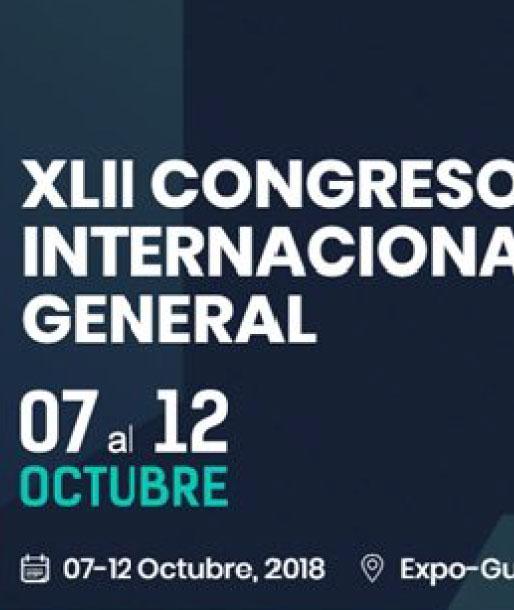 xlii-congreso event poster